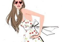 Art: Fashion Illustrations 1 / Fashion art and sketches I like
