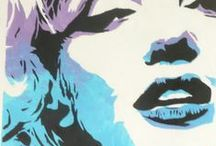 Art: Pop Art & Comics / Pop art and comic looking illustrations I like