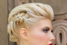 Beauty: Hair / Eye-catching and interesting hairs and hair-dos.