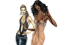 Art: Fashion Illustrations 2 / Fashion art and sketches I like