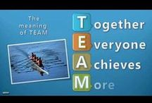 Teamwork / School-wide theme character development collaboration ideas activities / by Wendy Olson