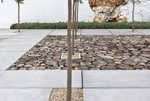 Stone + Paving / Inspiration for garden stone and paving and design.