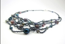 Freeform Beaded Jewelry / off-loom freeform jewelry with tiny seed beads / by Aimee Re