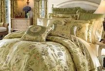 Bedding Sets / Bedding sets make the bedroom. Bedroom decor starts with the bedding. You can accessorize and make many color additions after you know what the color of your bedding is going to be. and if you are adding new bedding to an already established bedroom, there are so many colors to choose from. This board is dedicated to many beautiful bbeddin choices.