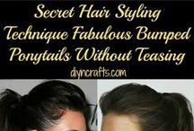 hair*. / Amazing hair for every type including short, medium and long hair lengths. Curly and straight these hair ideas are sure to make a girl feel beautiful, like she always should.  / by Vanessa Stade