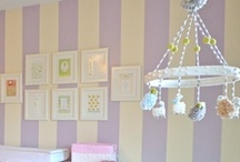 nursery / For future reference. I love all of these designs of the cute, whimsical, and dreamy nurseries for the house. / by Vanessa Stade