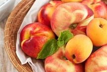 Apricots and Peaches ಿ / The soft summer fruits