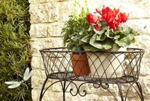 Flowerpots⊰❁⊱Flowerbeds / If you have a garden, but also a terrace or just a balcony