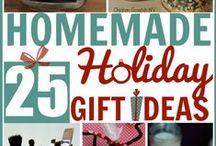 Homemade Holiday Gift Ideas / Get inspired by these great gifts to give from the heart!