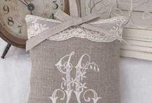 Pillows and Pincushion