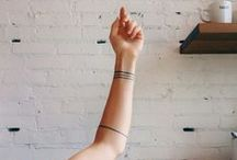 body ink: minimal / by Wendy Wiland