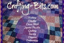 Crafting-Bits.Com / What's your favorite #Craft? It's hard to decide isn't it? Well here at Crafting Bits We have it all. This blog represents all the crafts I love and would love to learn.#knitting #crochet #crossstitch #jigsawpuzzles #quilting #sewing and so much more. It is just a very fun place to visit. Come see what you are missing. http://www.crafting-bits.com