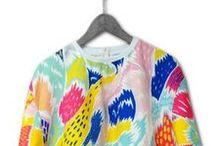 Rainbow Fashion / Go bright and bold, from head to toe.