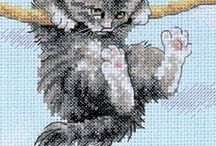 Cross Stitch Patterns / Cross Stitch is a craft of threads and pictures created from small x's by using different colors of threads. There are many textures and the use of color is extrorindiary. And there is cross stitch for anything you love. Scenery, pets, decor, you name it and there is a beautiful picture waiting for you to create.