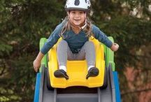 Coasters and Ride-ons and Wagons, oh my! / Our coasters, ride-ons and wagons are a must-have for outdoor fun! Step2 coasters will make your toddler the envy of the neighborhood. Our durable plastic roller coasters will have your children thanking you for years to come.