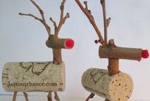 Christmas Craft Projects / Cool Christmas holiday craft projects that you can easily make yourself.