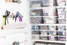 Scrapbooking & Craft Room Ideas / by Kelly Chamberlain
