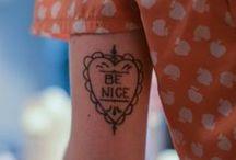 Tattoos / by Giorgia Aniballi