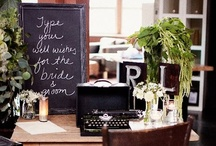 .guest book & table. / by The Event Expert