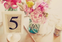 .table names & numbers. / by The Event Expert