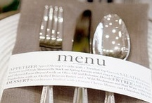 .menus. / by The Event Expert