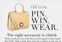 Zappos Couture Pin Win Wear / by Mel ShoeLover