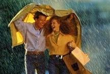 LET IT RAIN  / #DLLetItRain   ** Rainy days are the BEST** / by Mel ShoeLover