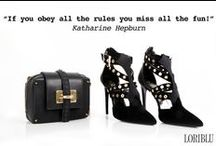 """FALL WINTER 2014-15 """"PUNK CHIC"""" / Introducing our wonderful punk-inspired shoes created for the Autumn-Winter 2014/2015. Available at Loriblu boutiques and Loriblu.com"""