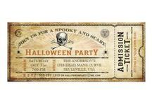 Halloween Party Invitations / Cool, awesome, sometimes scary, fun, cute, colorful, fall, pumpkin carving, hay ride, and Halloween party invitations! Halloween party invitations printed on your choice of several paper options, affordable, 100% satisfaction guarantee by Zazzle, often on sale! Whether it's a kids Halloween party, a very scary Halloween party, hay ride, pumpkin carving party, or gothic Halloween costume party, we have the invitation for you!