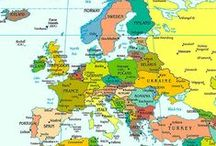 In Case I Ever Go to Europe / Which countries, which cities? So many choices if you go to Europe.