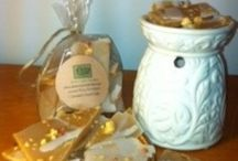 Green Duck Candles / Hand crafted, hand poured candles, & richly scented wax tarts.  http://www.greenduckcandles.com/ / by P.S. Hill