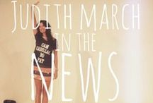 {Judith March in the News}