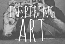 {Art is All Around} / The art inside our lives that inspires us to think outside of our lives.