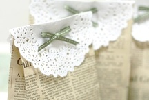 Pack it, wrap it, tie it with a pretty bow / slip off the ribbon, pull back the paper... making the simplest gift beautiful