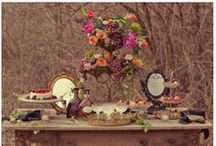 Rustic Charm Weddings / Relaxed, rustic, charming. For those that who want to enjoy what their surrounding around them provide. A crooked fence of a chipped urn adding to the sentiments of the day.