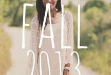 {Fall/Transitional 2013} / Judith March's Fall 2013 collection
