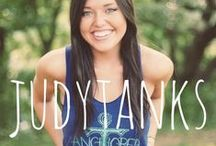 {Judy's Tanks and Tees} / Custom Judith March Tanks and Tees