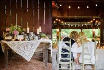 A little bit Country / Weddings with country flair