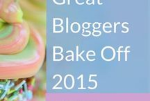 Great Bloggers Bake Off / Weekly Challenges following every episode of Great British Bake Off - Series 6