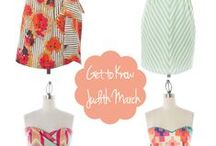 {Guest Blogger Styling Ideas} / Here are a few of our favorite bloggers ideas of how to style Judith March!