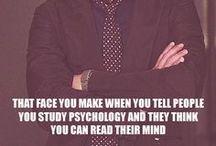 Psychology / by Terra Daniels