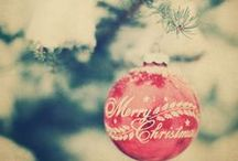{Happy Christmas} / To the seasons that brings great JoY and season tidings! Cheers to the Holidays!