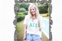 {Judy Goes GREEK} / We know the pride of being a part of such wonderful sisterhoods! We wanted to make it possible for you to be able to show your love and support to your sorority through Judith March's GREEK products!