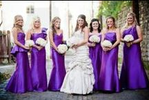 Radiant Orchid Wedding / Gorgeous Radiant Orchid Wedding Ideas | Pantone's Color of the Year for 2014 #radiantorchid #radiantorchidwedding