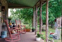 Decks,patios, porches / by Michelle Friend