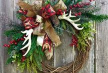 Winter/Christmas Wreaths