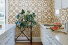 Interiors: Walls / by Sarah Ehlinger / Very Sarie