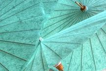 Balloons and Umbrellas - luminescence