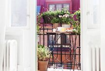 Balconies, terraces and gardens / by Olivia Widmark