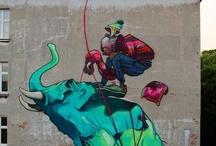 Street art / by Sophia Vásquez Sologuren